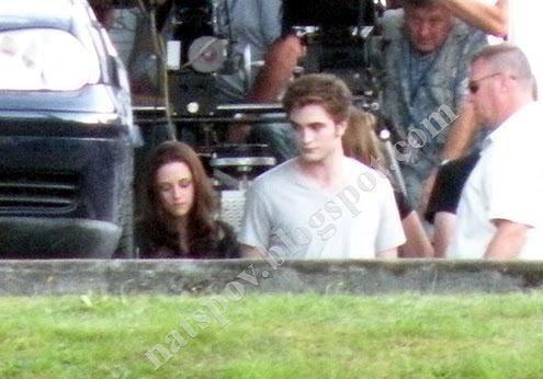 New Pictures On the Set of Eclipse