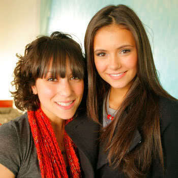Nina Dobrev wallpaper probably containing a stole and a portrait entitled Nina <3