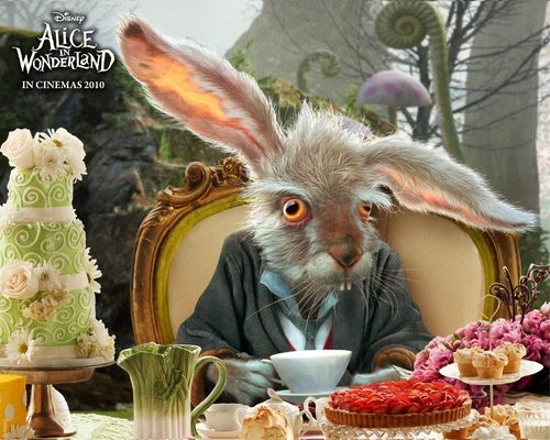 Official Alice in wonderland posters - alice-in-wonderland-2010 Wallpaper
