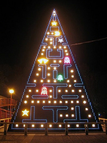 Pac Man Christmas Tree!