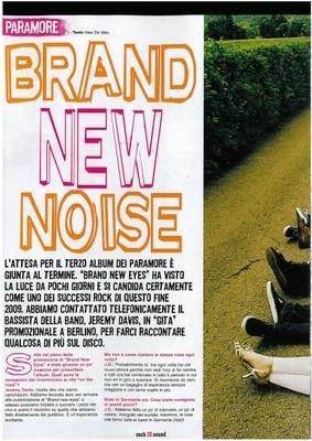 Paramore On Rock Sound Magazine