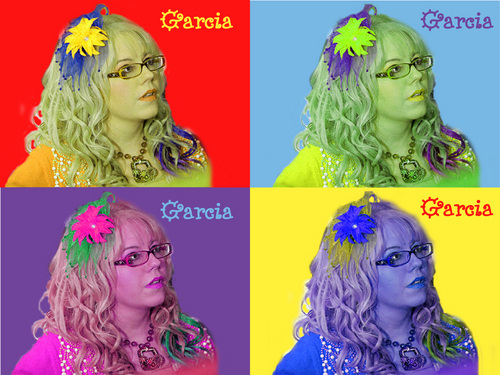 Penelope Garcia Pop Art