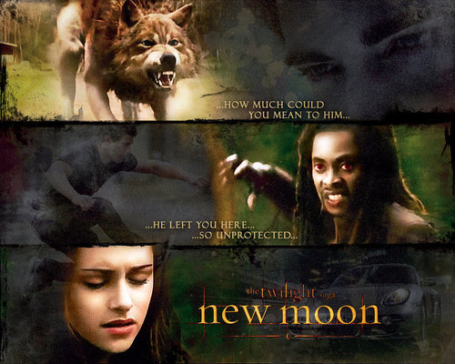 New Moon Movie wallpaper entitled Posters
