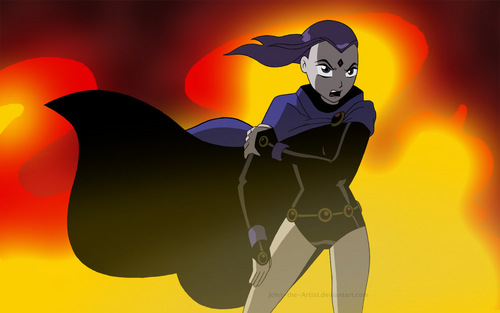 Raven - teen-titans Wallpaper
