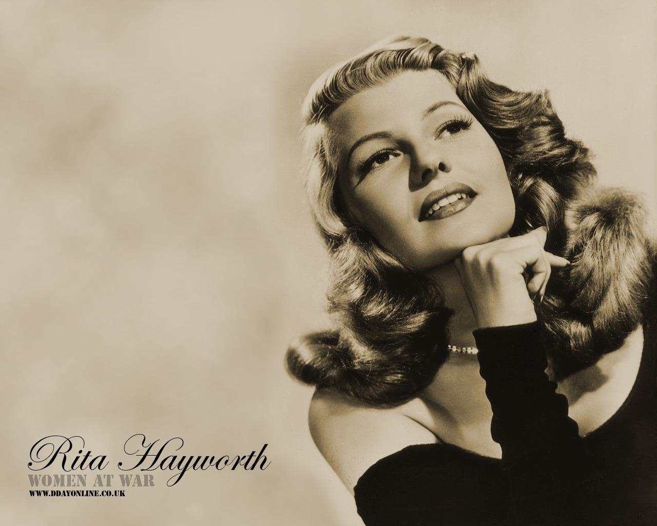 Rita Hayworth - Rita Hayworth Wallpaper (9590603) - Fanpop