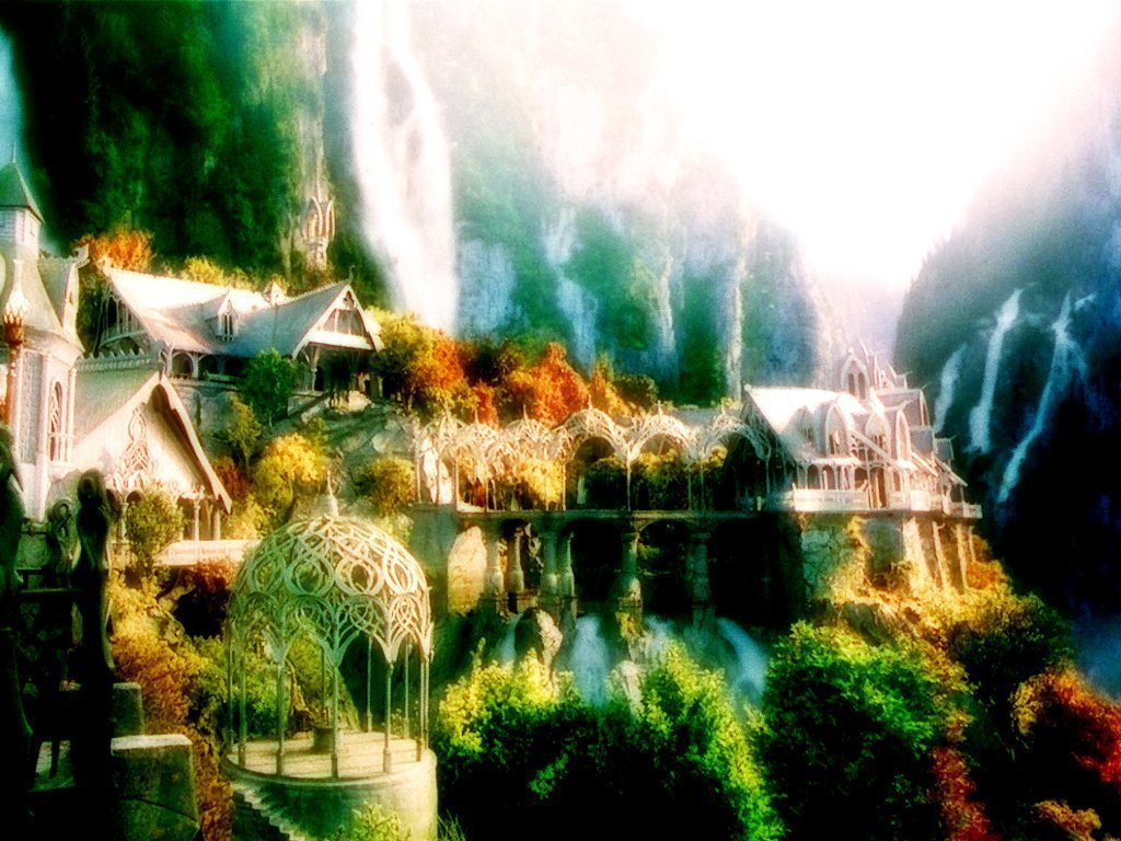rivendell wallpaper-#6