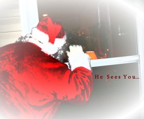 Santa Comes For A Visit