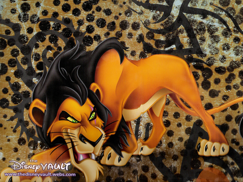 Disney Villains wallpaper called Scar