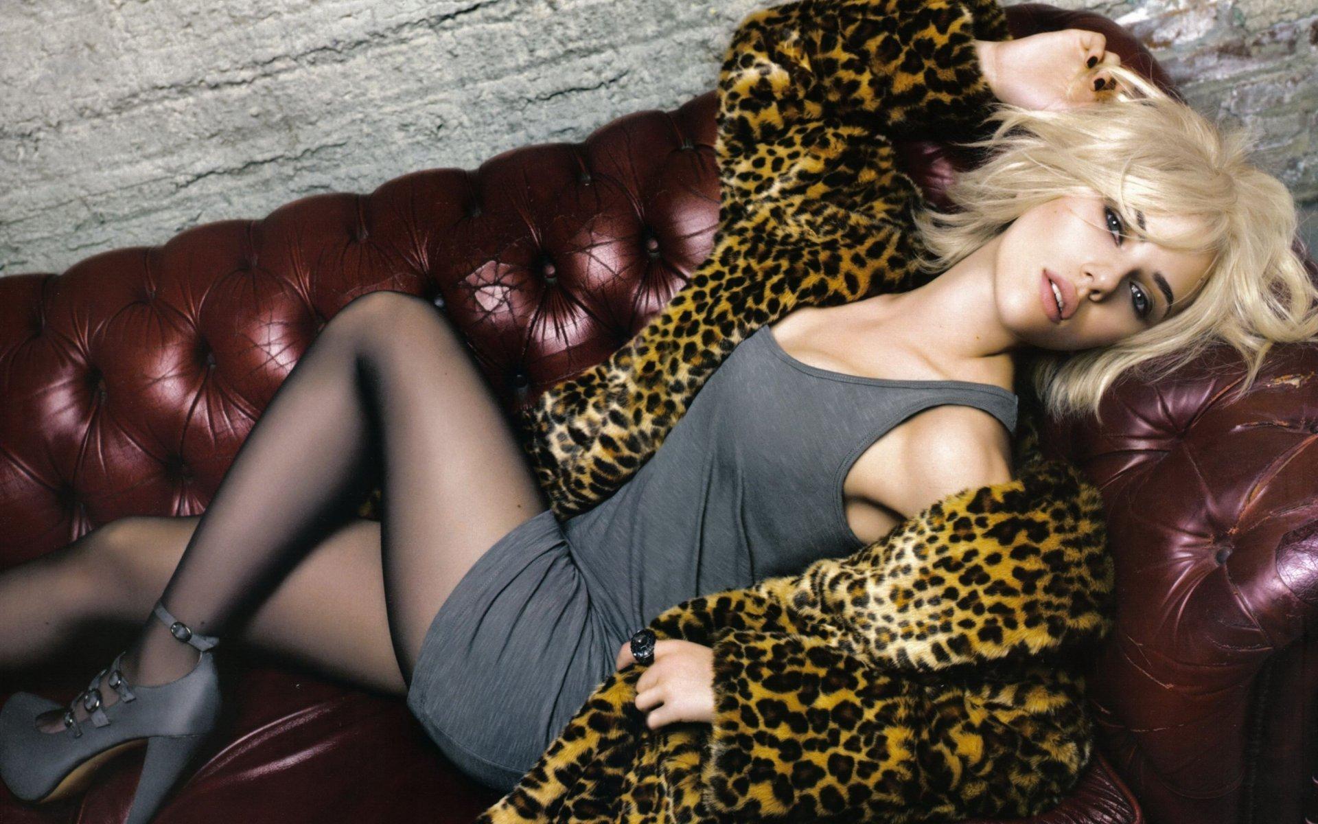 Scarlett Johansson Widescreen वॉलपेपर