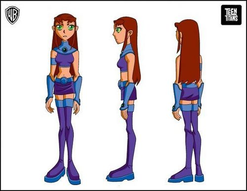 Teen Titans wallpaper titled Starfire