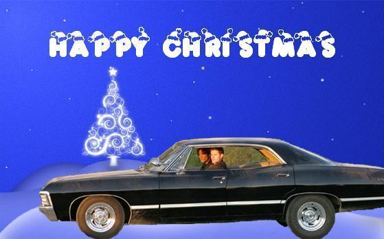 Supernatural Christmas Cards Supernatural Fan Art