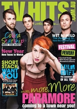 TV Hits Cover - Paramore