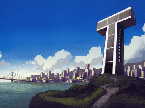 Teen Titans wallpaper containing a business district titled Teen Titans Tower