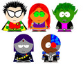 Teen Titans in South Park