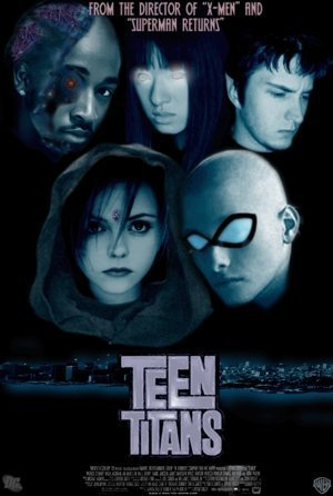 Los Jóvenes Titanes fondo de pantalla possibly with a sign and anime entitled Teen Titans movie