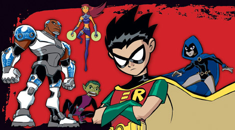 Teen Titans wallpaper containing Anime titled Teen Titans