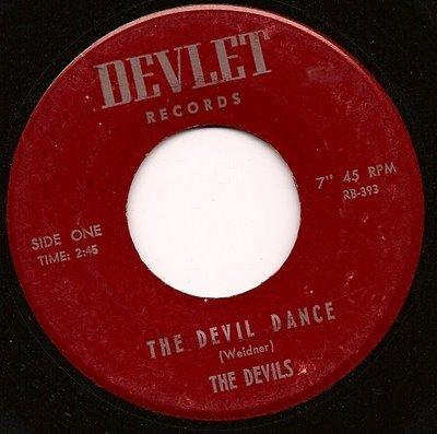 The Devil Dance -The Devils - 45