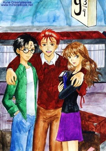 The Trio Fanart