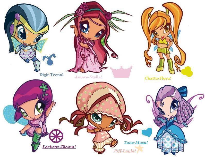 The winxes pixies