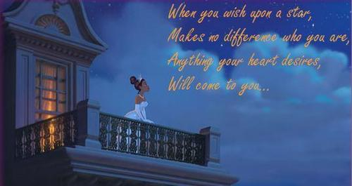 Tiana's Wish Upon a bintang