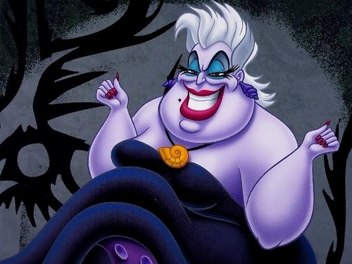 les méchants de Disney fond d'écran entitled Ursula
