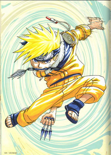 Uzumaki: The art of NARUTO -ナルト- scans
