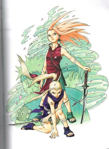 Uzumaki: The art of Naruto scans
