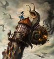 Very interesting alice in wonderland concept  art - alice-in-wonderland-2010 fan art