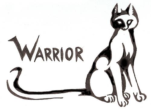 Warrior Cat Tattoo