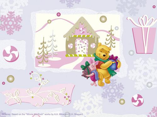 Xmas Winnie the Pooh