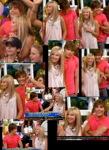 Zashley GOOD MORNiNG AMERiCA - zac-efron-and-ashley-tisdale Screencap