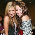 ashley, miley - ashley-tisdale-and-miley-cyrus photo