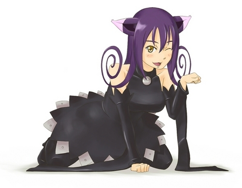 soul eater wallpaper titled blair the cat