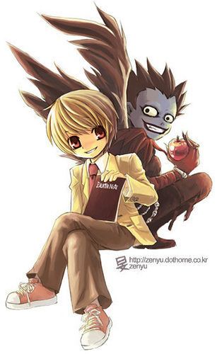 death note chibi light - photo #14