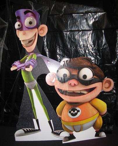 fanboy and chum chum halloween party