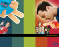 happy holiday - the-big-bang-theory wallpaper
