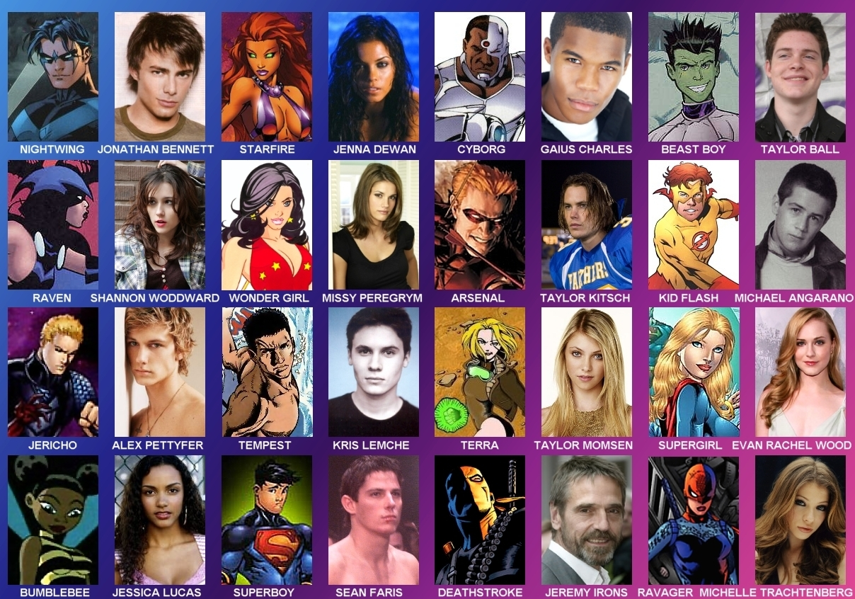 Teen Titans Cast 33