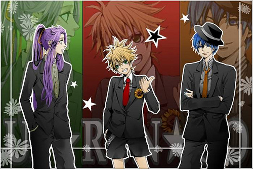 it's all kaito's falt for making us dress up
