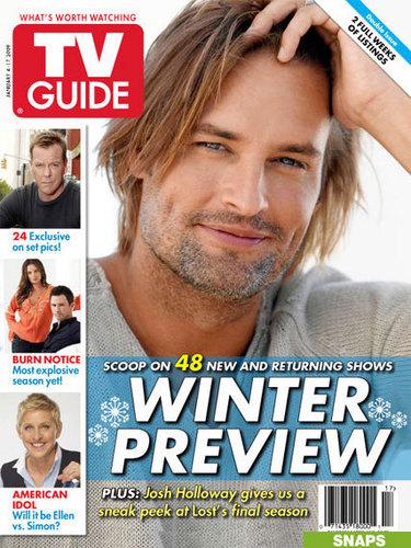 josh holloway-TV Guide Magazine