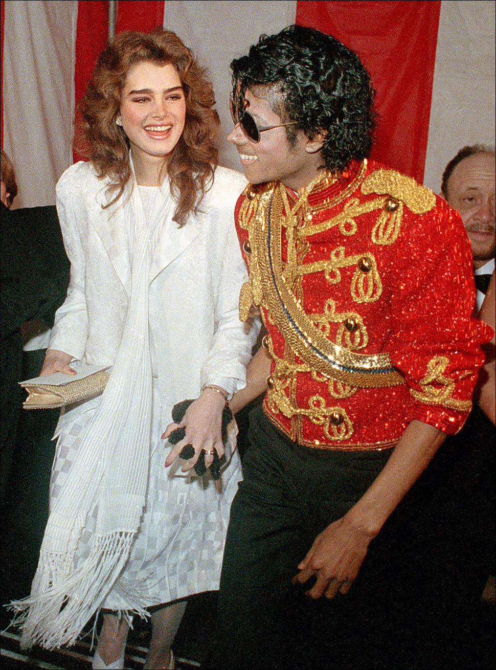 Michael Jackson and Brooke Shields michael and brooke