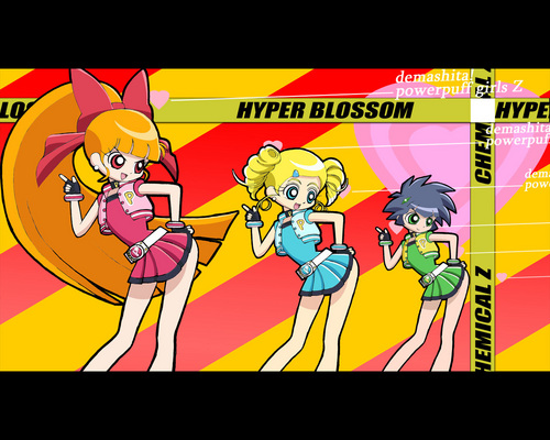 powerpuff girls Z wallpaper with animê titled power puff girls z