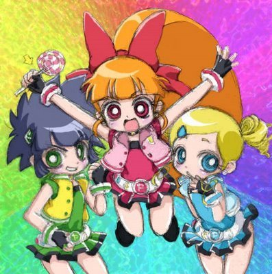 powerpuff girls Z wallpaper with anime titled power puff girls z