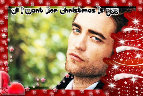 robert pattinson-merry x-mas