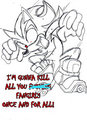 shadow loves you - shadow-the-hedgehog photo