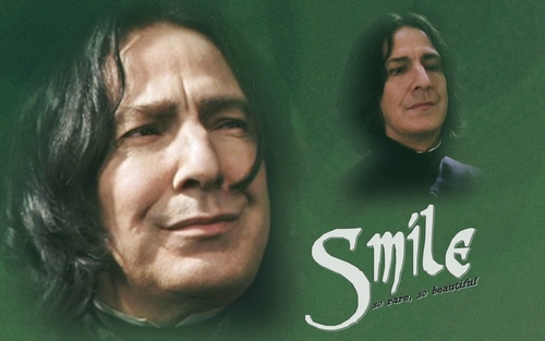 Severus Snape wallpaper called smile