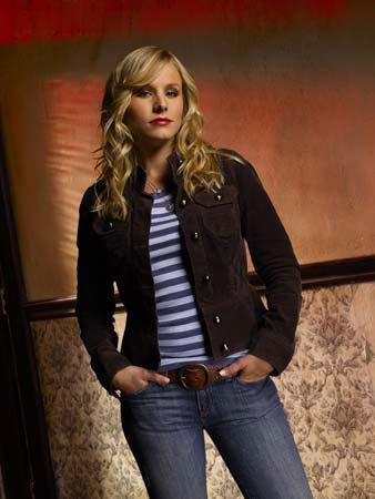 Veronica Mars wallpaper probably containing a hip boot, a well dressed person, and a pantleg entitled veronica mars photoshoot