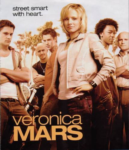 Veronica Mars দেওয়ালপত্র possibly containing a sign and a well dressed person entitled veronica mars photoshoots