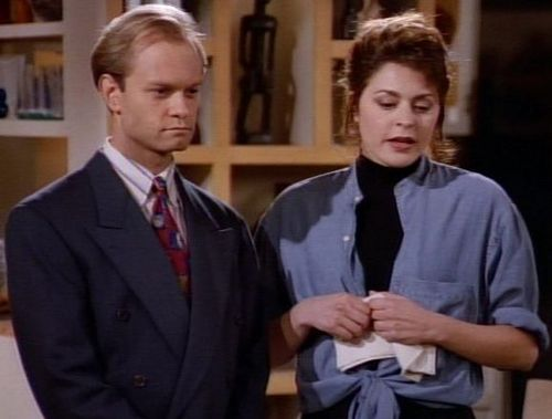 Frasier wallpaper containing a business suit called -Frasier-