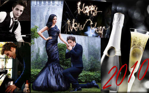 **HAPPY NEW tahun 2010** Rob & Kristen