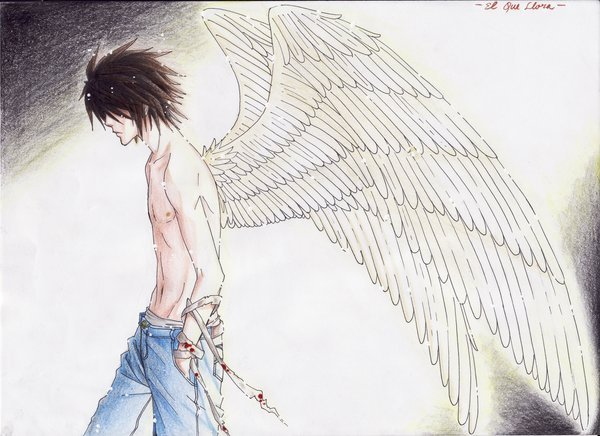 !L is a angel!